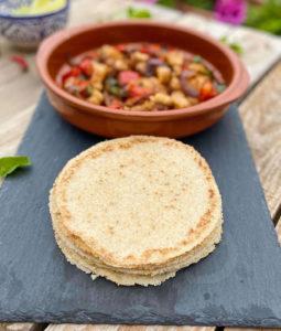 Tortilla Mexicana sin gluten